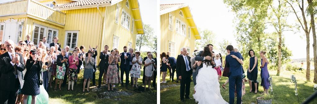 Swedish barn wedding
