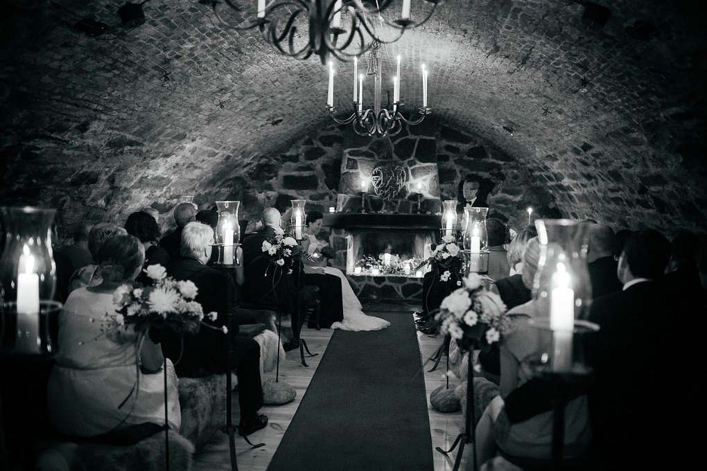 Norwegian wedding at Thorskogs slott
