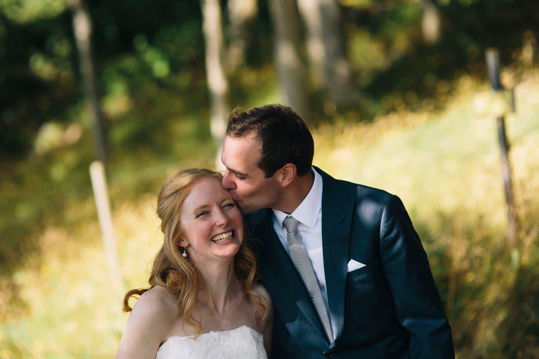 bröllop porträtt skog