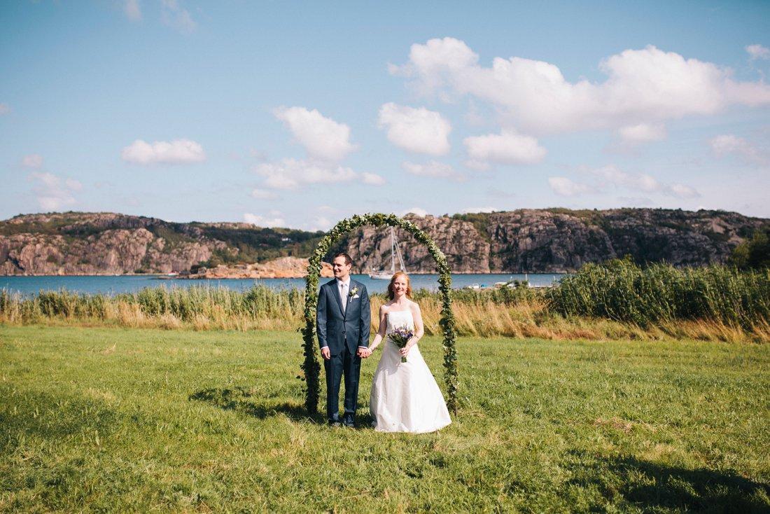 sommarbröllop lysekil