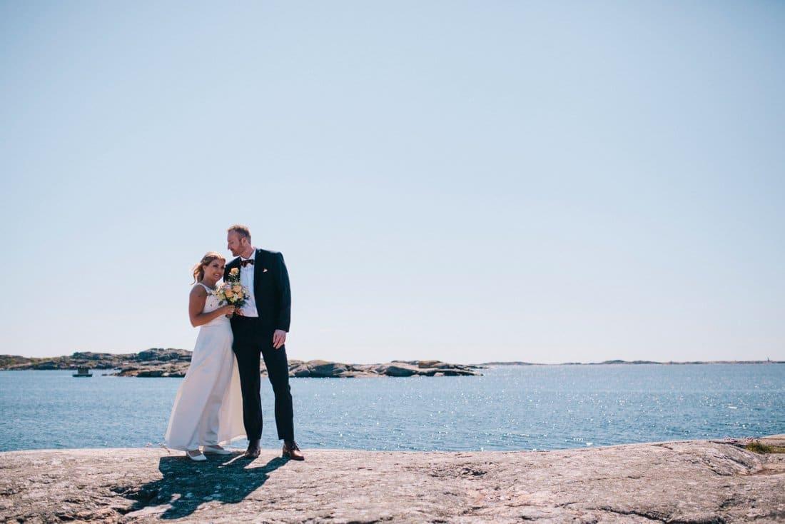 bröllop, skärgård