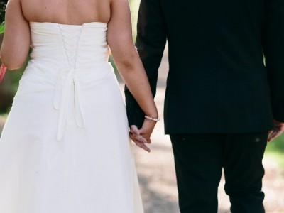 Soligt bröllop Västkusten