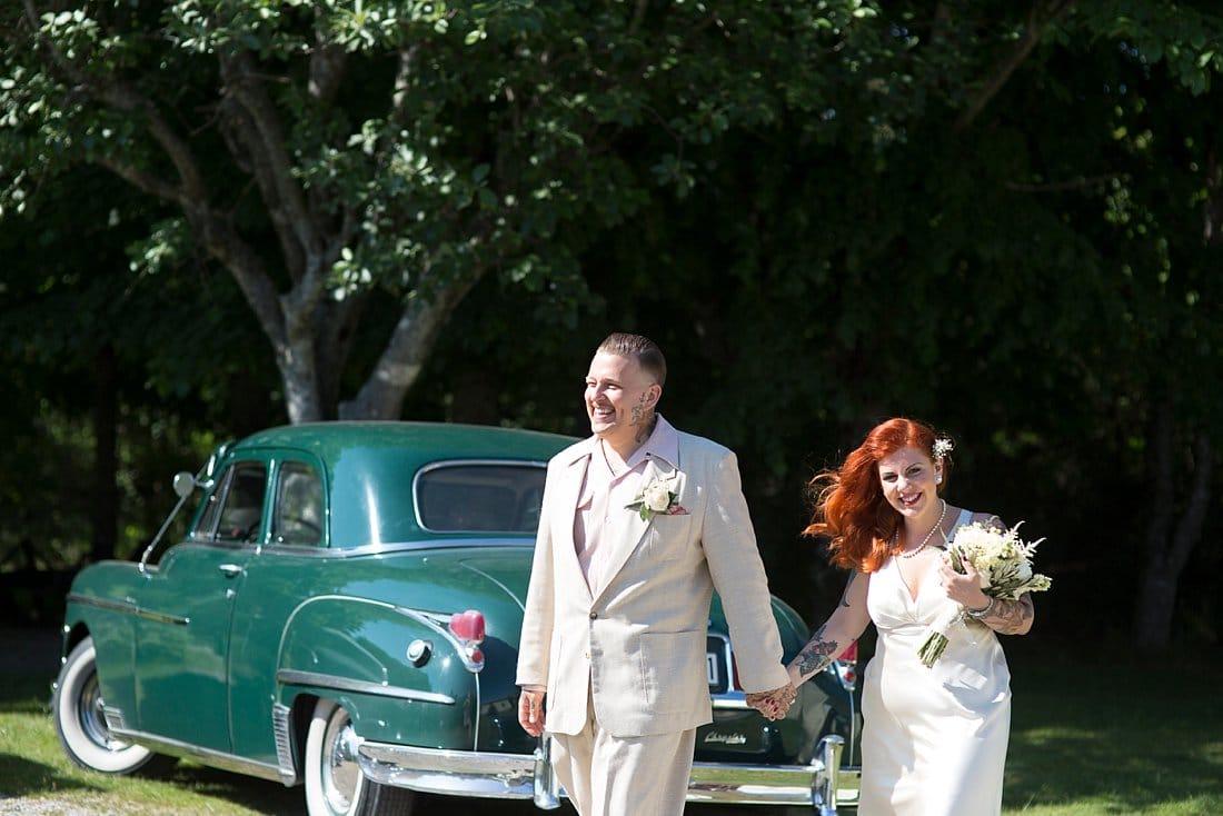 jänkebil bröllop
